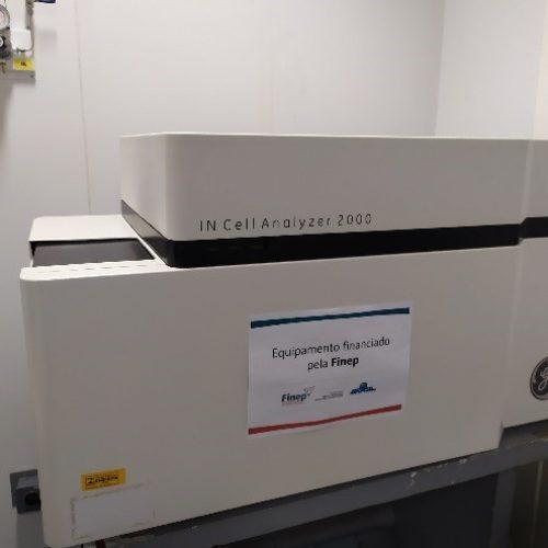 Sistema de análise celular multiparamétrica GE In Cell Analyzer 2000